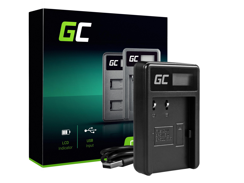Green Cell batteriladdare CB-5L för Canon BP-511, EOS 5D, 10D, 20D, 30D, 50D, D30, 300D, PowerShot G1, G2, G3, G5, Pro 1