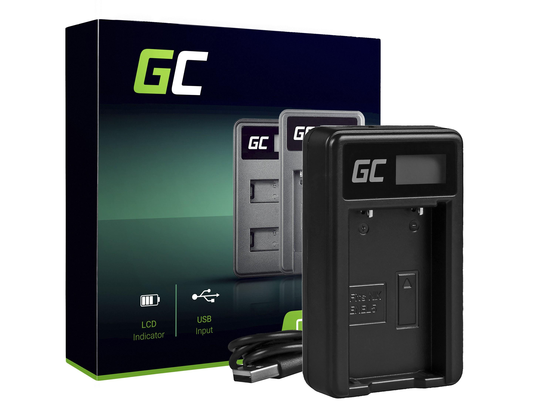 Green Cell Batteriladdare MH-61 för Nikon EN-EL5, Coolpix P100, P500, P530, P520, P510, P5100, P5000, P6000, P90, P80