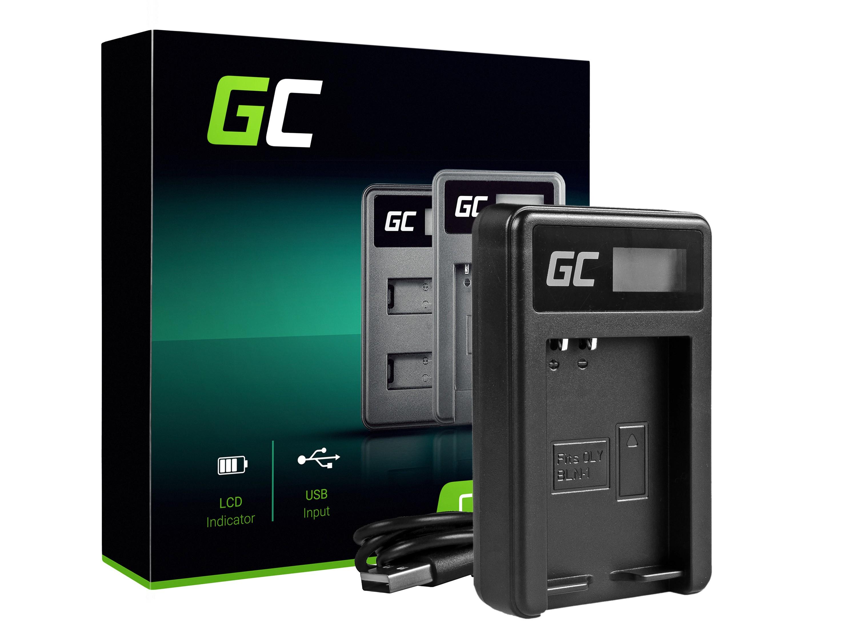 Green Cell Batteriladdare BCN-1 för Olympus BLN-1/BCN-1, PEN-F, OM-D EM1, EM5, OM-D E-M5 Mark II