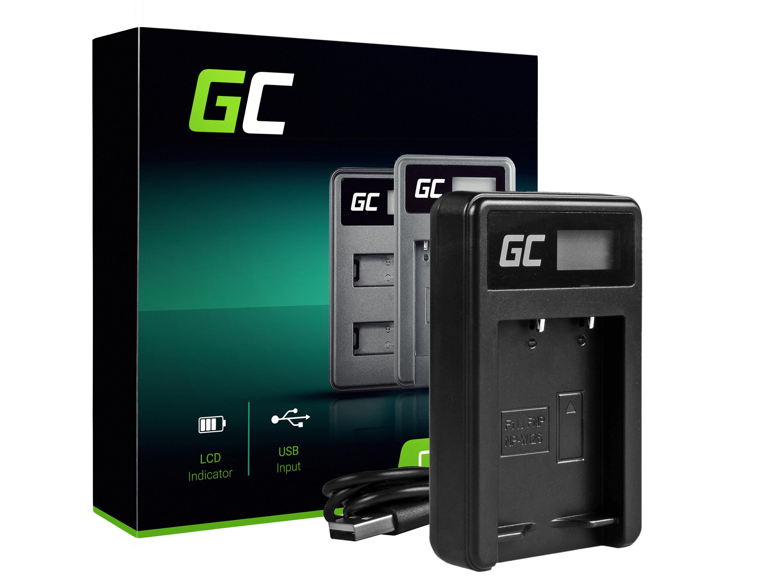 Green Cell batteriladdare BC-W126 för Fujifilm NP-W126, FinePix HS30EXR, HS33EXR, HS50EXR, X-A1, X-A3, X-E1