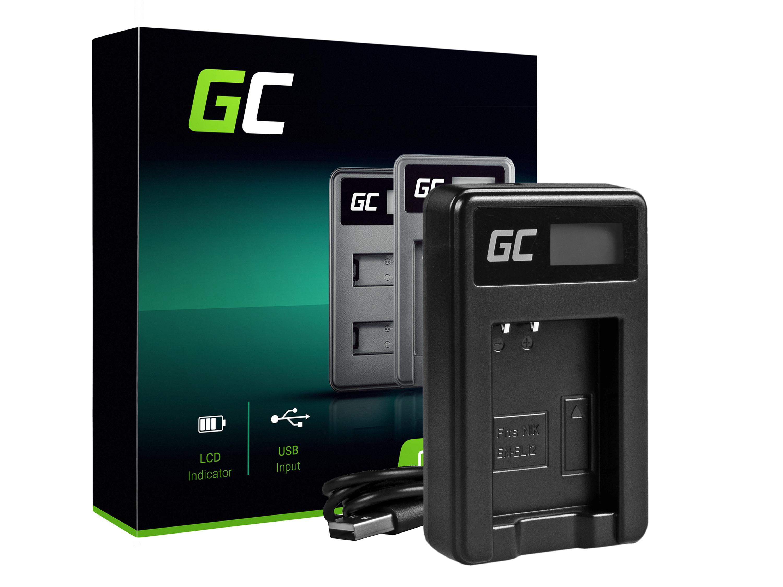 Green Cell batteriladdare MH-65 för Nikon EN-EL12, AW100S, S640, AW100, P300, P330, P310, S70 S6000