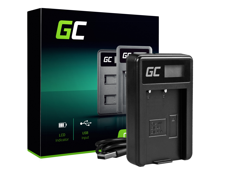 Green Cell batteriladdare MH-23 för Nikon EN-EL9, DSLR D40, D40X, D60, D3000, D5000