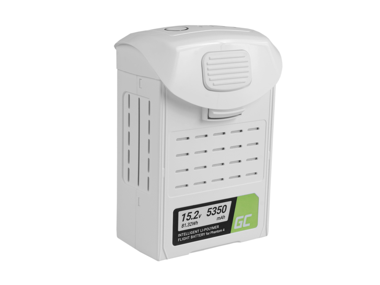 Green Cell Drone Batteri för DJI Phantom 4, Phantom 4 Pro, Phantom 4 Pro + 5350mAh 15.2V