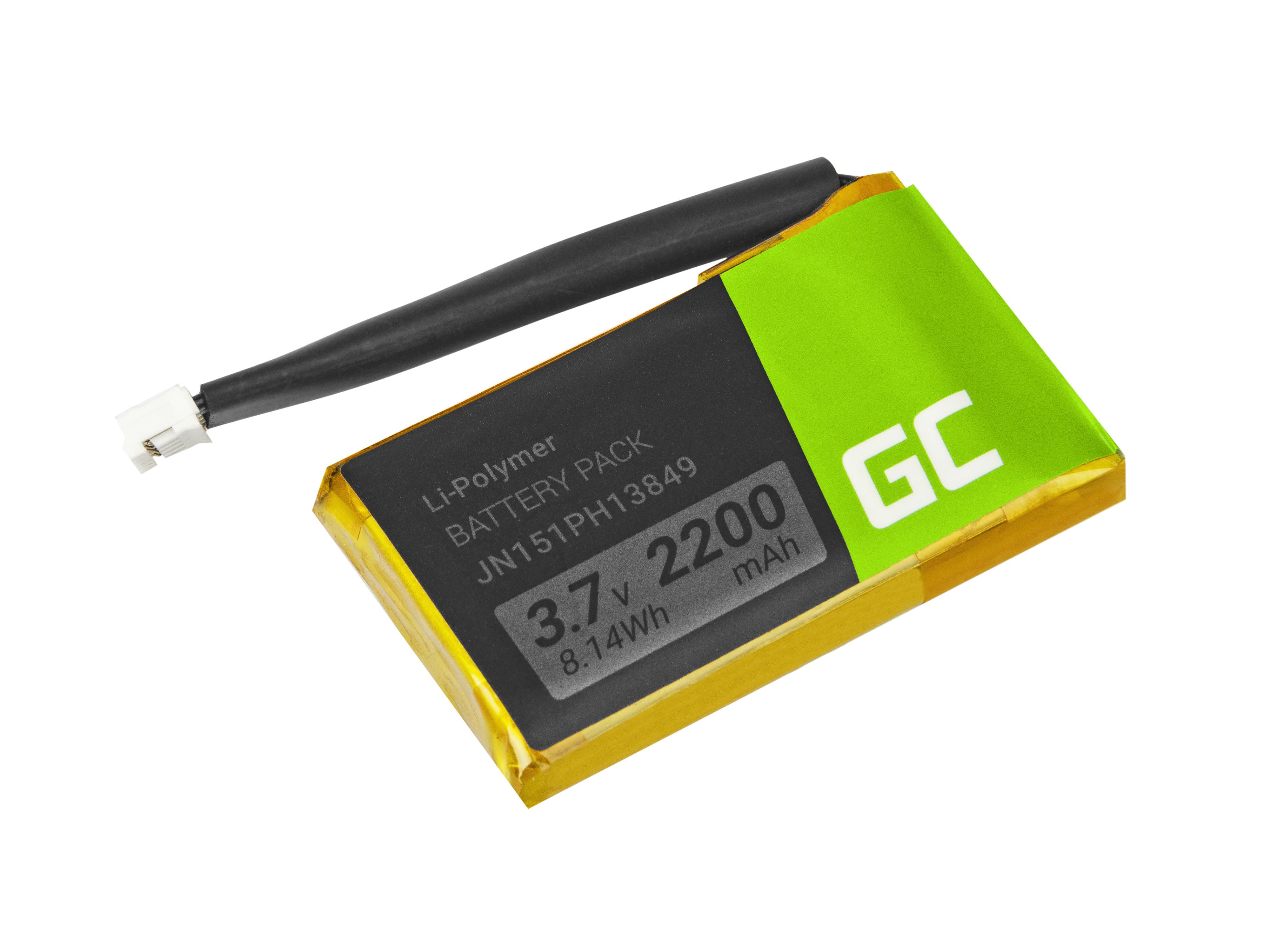 Green Cell PR-652954 högtalarbatteri för JBL Flip 2