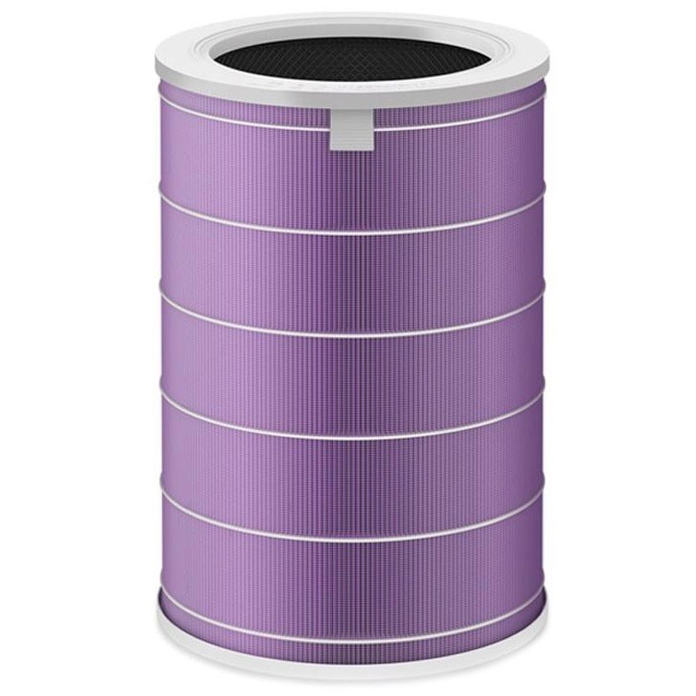 Antybakteryjny fioletowy filtr Xiaomi do oczyszczaczy powietrza Xiaomi Mi Luftrenare 1, 2, 2S, Pro
