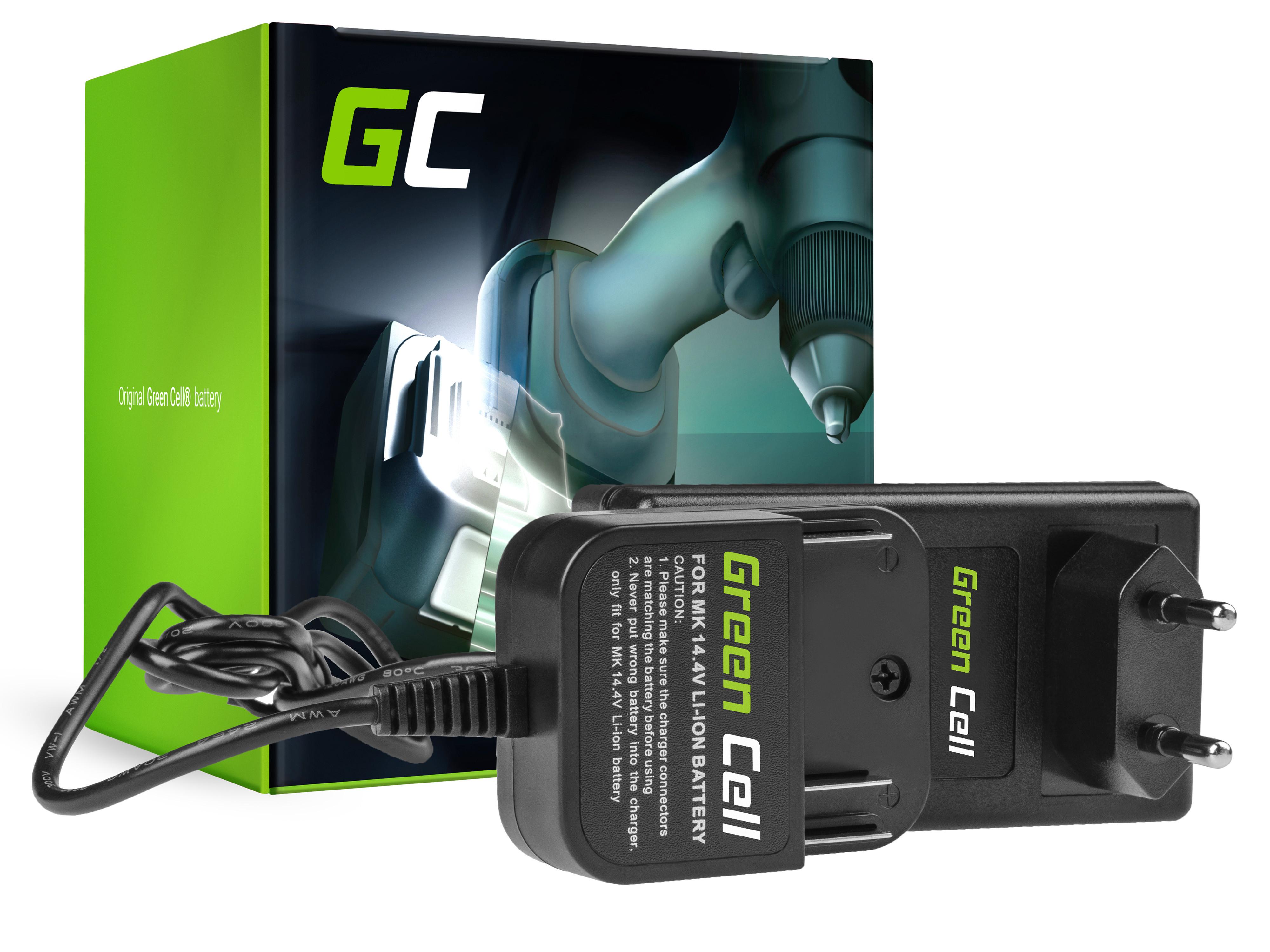 Green Cell elverktyg laddare 16.8V Makita 14.4V Li-Ion BL1415 BL1415N BL1430 BL1440 BL1450 L1451