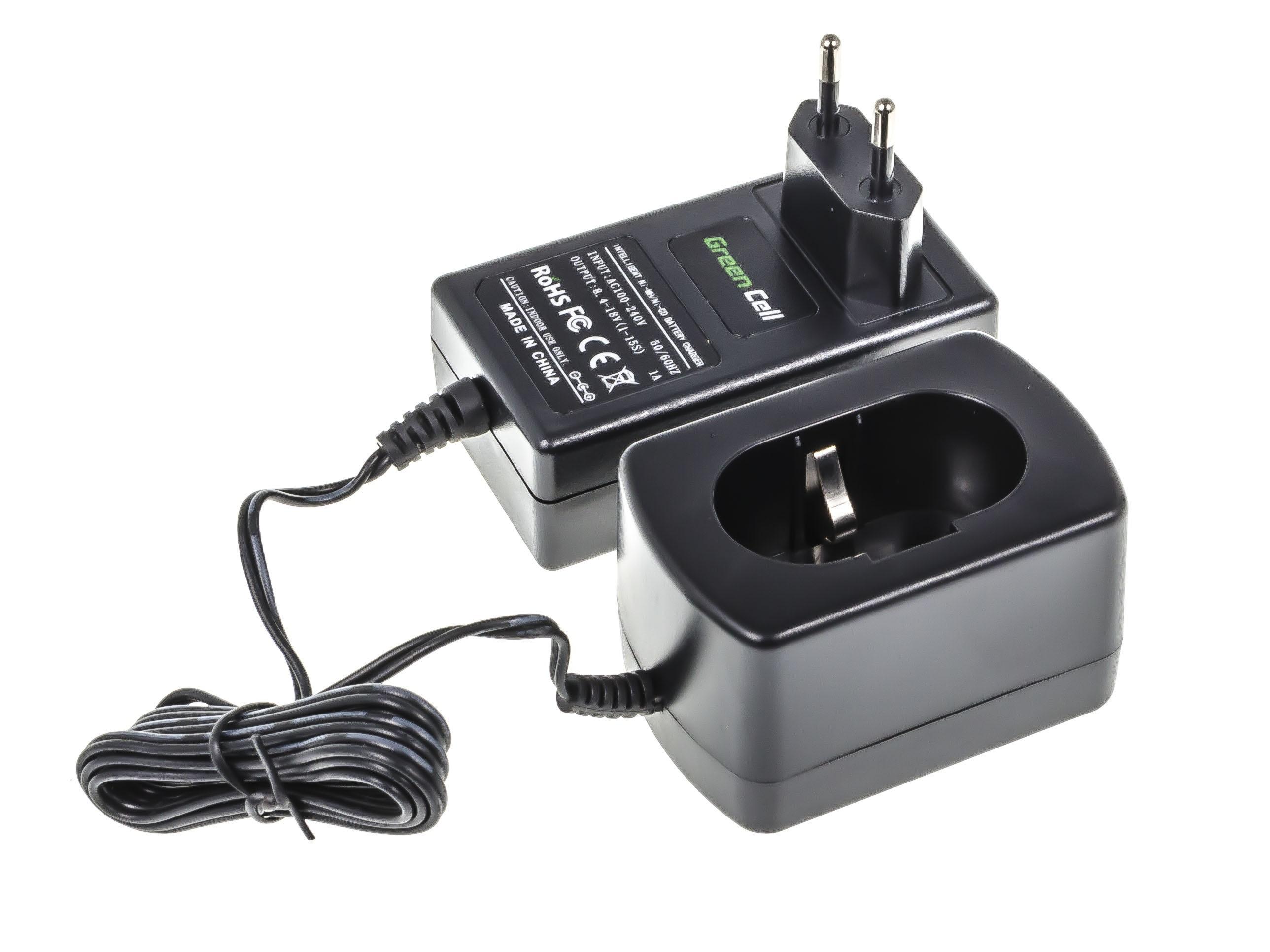 Green Cell Batteriladdare för power tool för Makita 8.4V-18V Ni-MH Ni-Cd