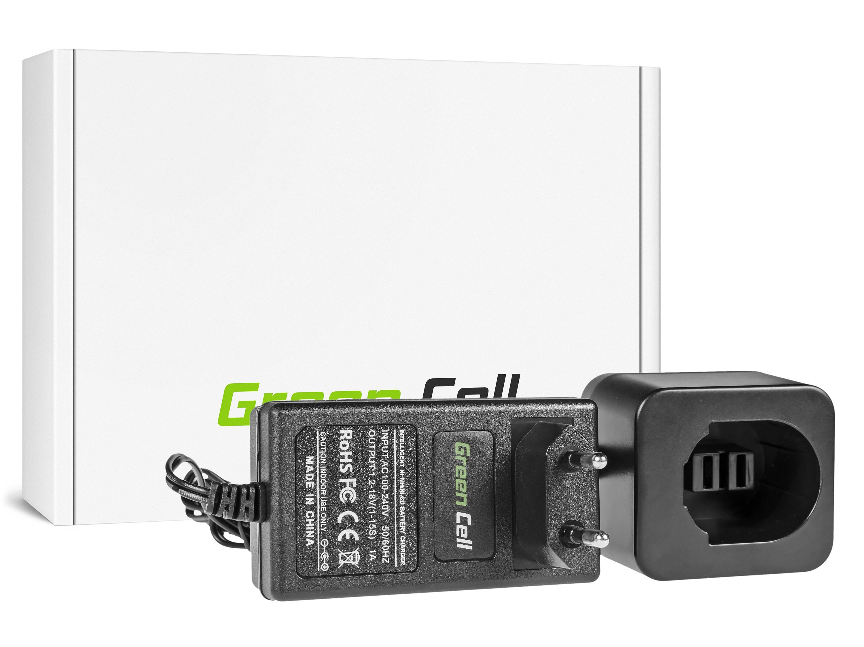 Green Cell batteriladdare för energiverktyg för DeWalt 8.4V -18V Ni-MH Ni-Cd
