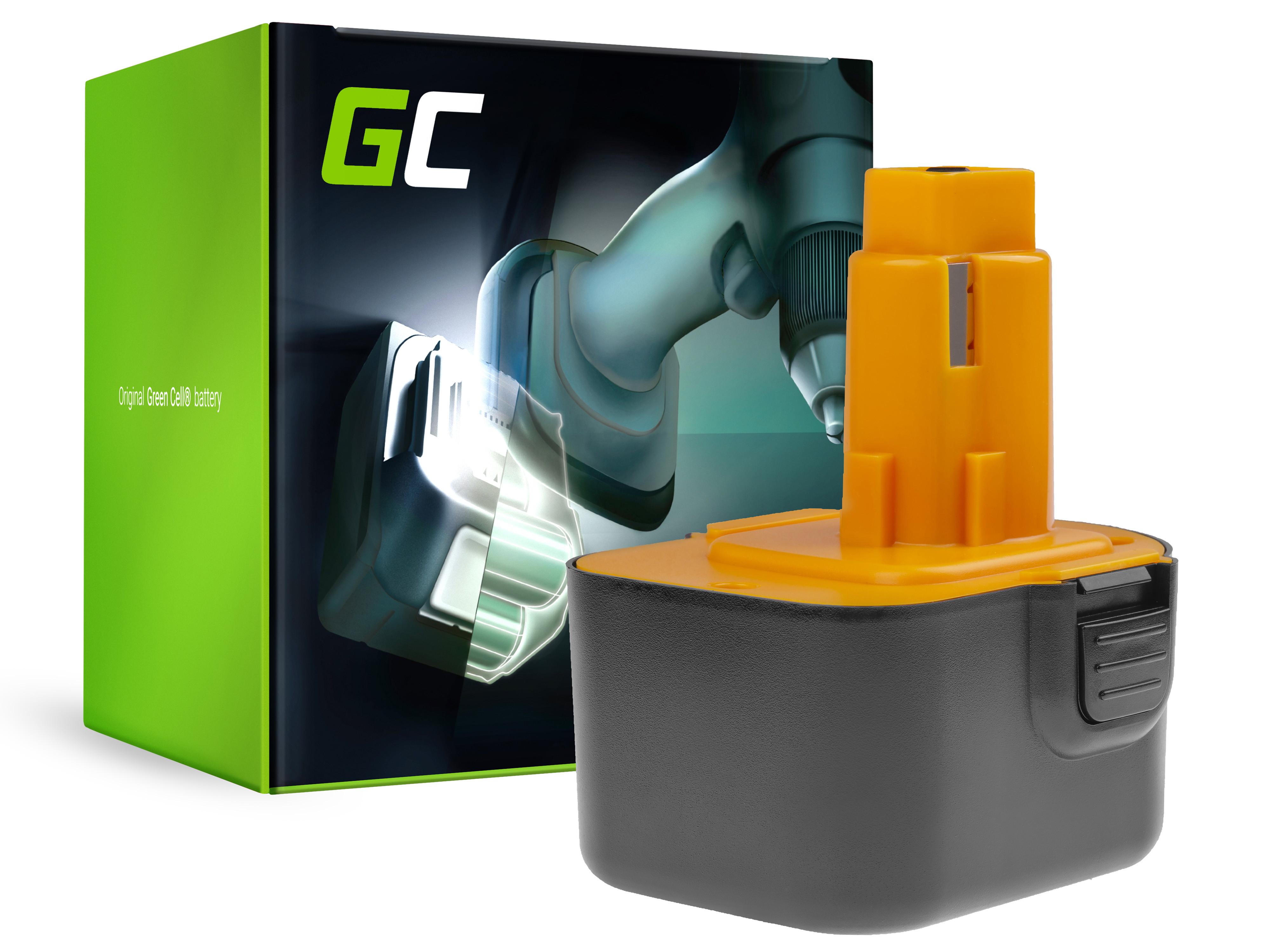 Power Tools Batteri DE9037 PS130 för DeWalt och Black&Decker 12V 3000mAh