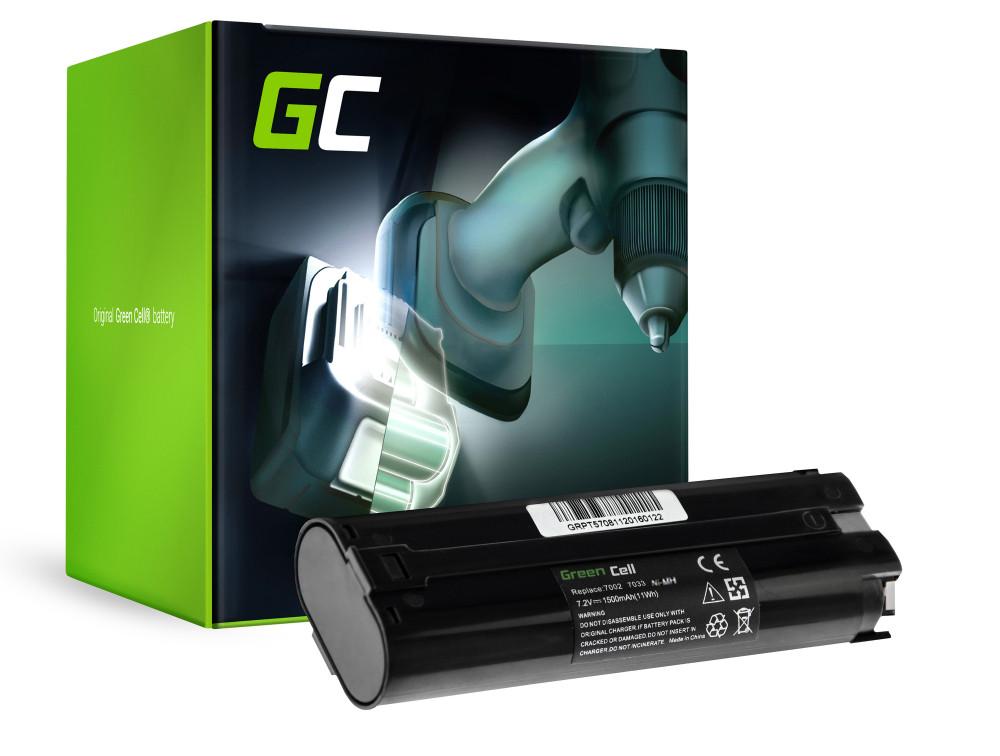 Elverktyg Batteri 7000 7033 för Makita ML700 ML701 ML702 3700D 4071D 6002D 6072D 9035D 9500D 1500mAh