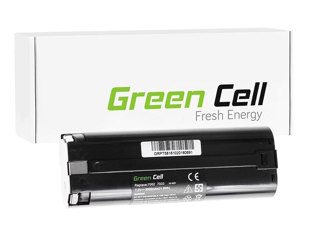Elverktyg Batteri 7000 7033 för Makita ML700 ML701 ML702 3700D 4071D 6002D 6072D 9035D 9500D 3000mAh