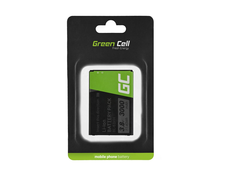 Green Cell Smartphone Batteri för LG G3 BL-53YH