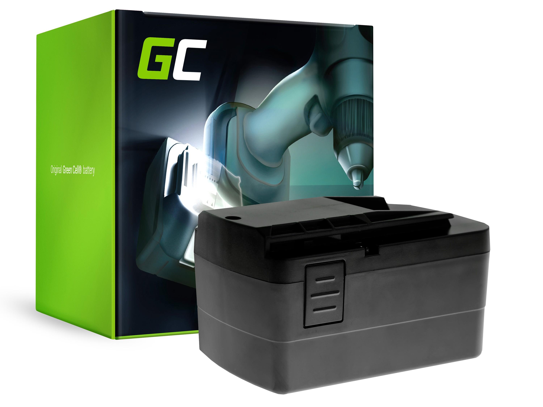 Green Cell elverktygsbatteri för Festool C 12 Festool T 12+3 12V 3.3 Ah