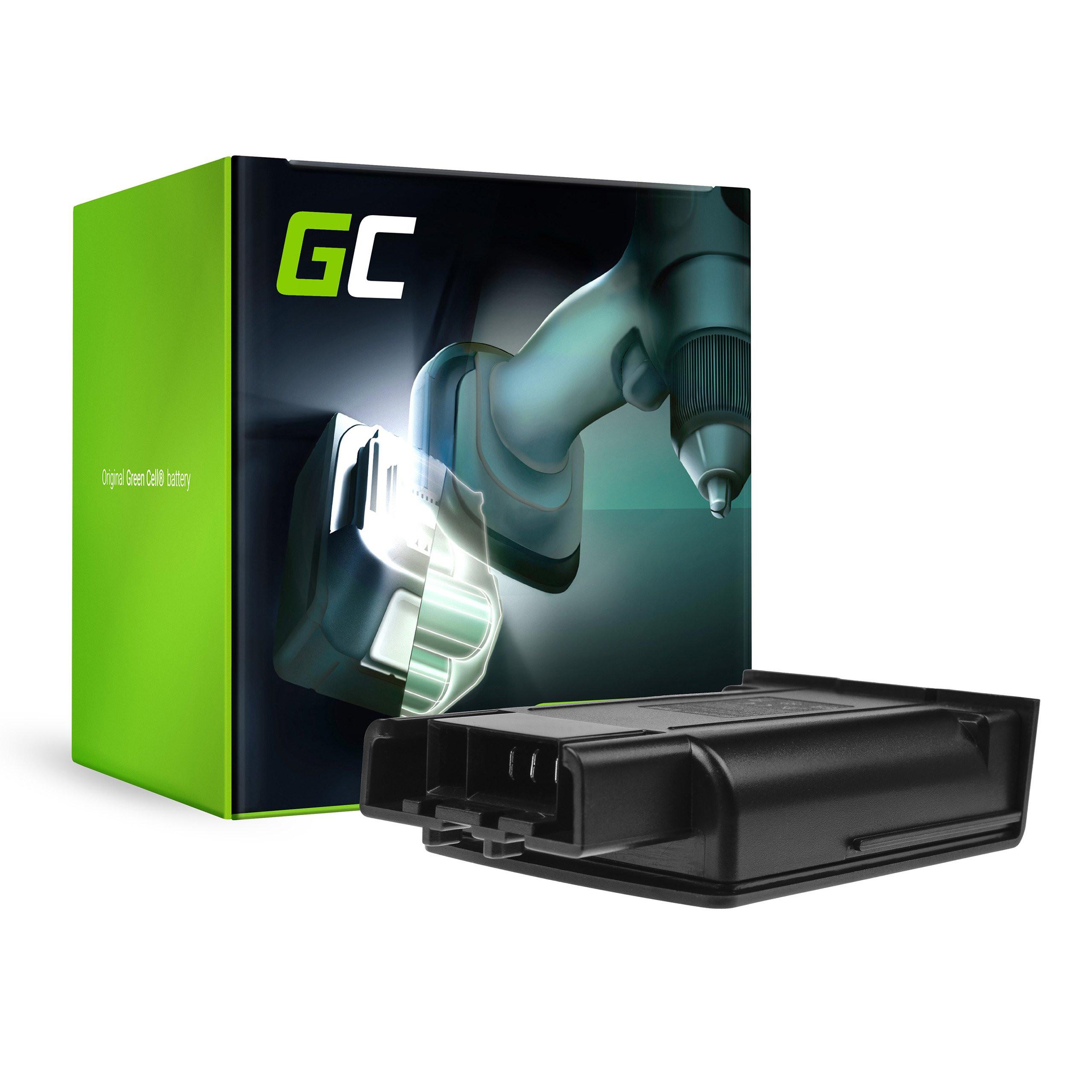 Green Cell dammsugare batteri för Karcher KM 35/5 C 1,5 Ah 18V