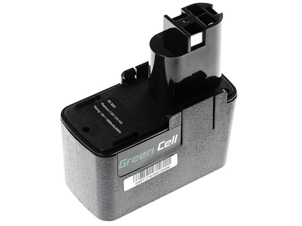 Batteri för elverktyg för Bosch 3300K PSR 12VE-2 GSB 12 VSE-2