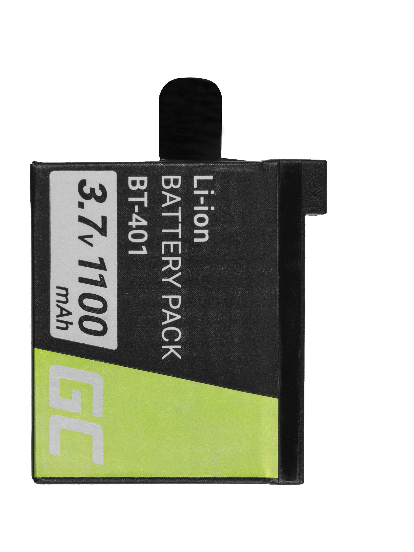 Green Cellkamerabatteri för GoPro HD Hero 4 AHDBT-401