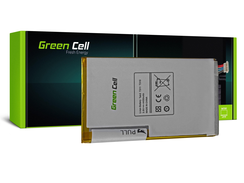 Batteri Green Cell T4450E för Samsung Galaxy Tab 3 8,0 T310 T311
