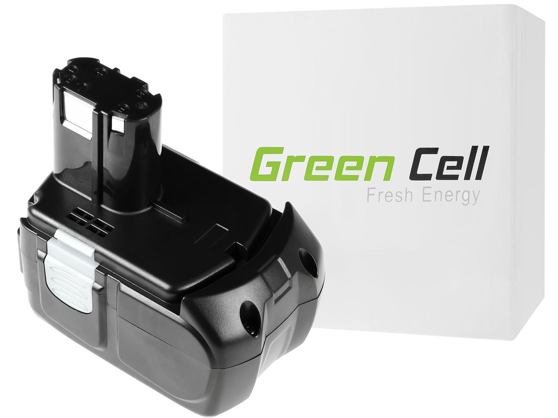Green Cellverktyg batteri Hitachi BCL1815 C18DL 18V 1.5Ah