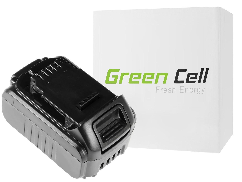 Green Cellverktygsbatteri för Dewalt DCB184 DCB182 DCB180 18V 5Ah