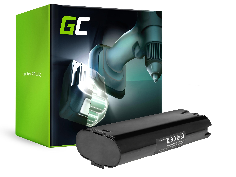 Green Cellverktygsbatteri för AEG ABSE 10 ABE P7.2 7.2V 2.5Ah