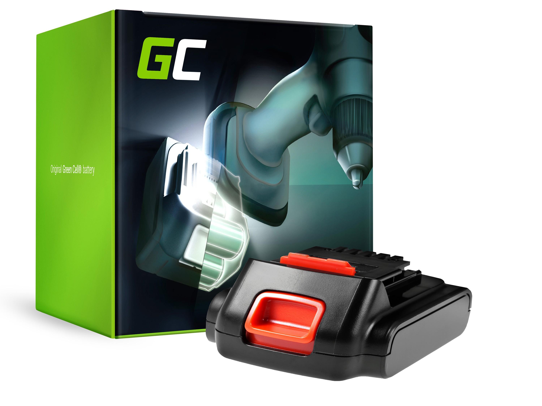 Green Cellverktygsbatteri för svart och däckare BL1114 14.4V 2Ah