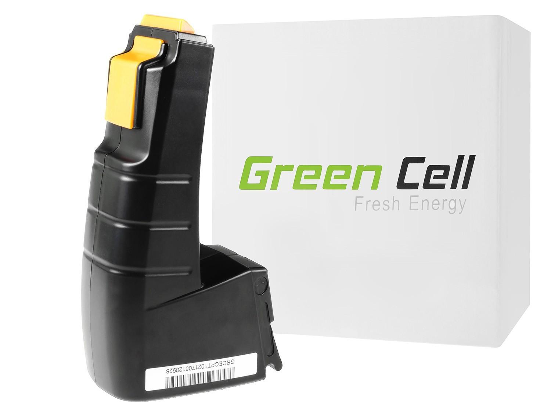 Green Cellverktygsbatteri för FESTOOL BPH9 6C 96ES 9.6V 2Ah