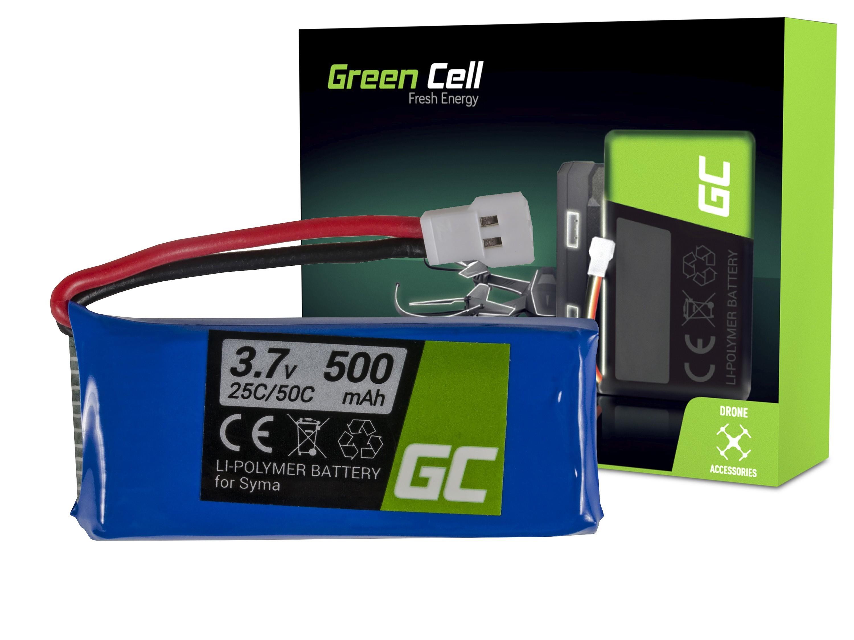 Green Cell RC Batteri för Syma S032 S032G S39 3.7V 500mAh