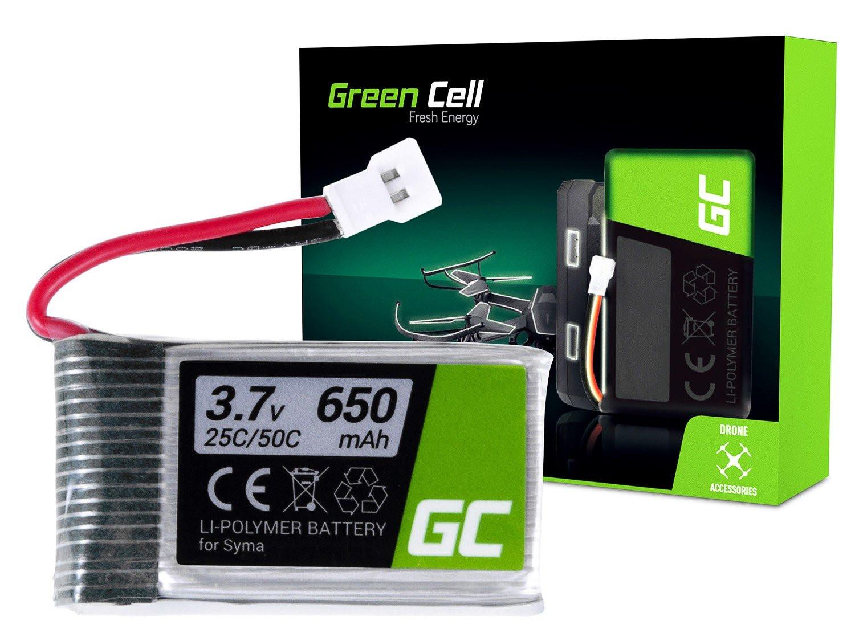 Green Cell RC Batteri för Syma X5 X5HW X5HC Explorers 3.7V 650mAh