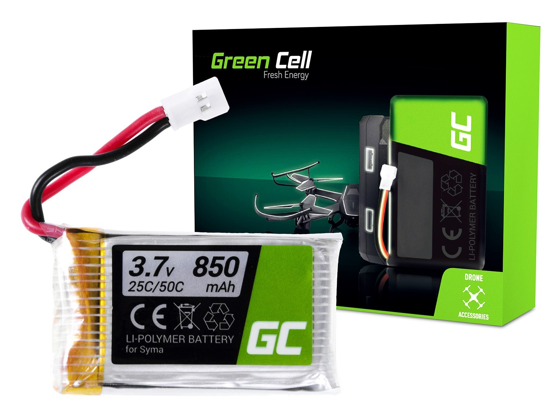 Green Cell RC Batteri för Syma H5C X5 X5A X5C X5SW X5SC Explorers 3.7V 850mAh
