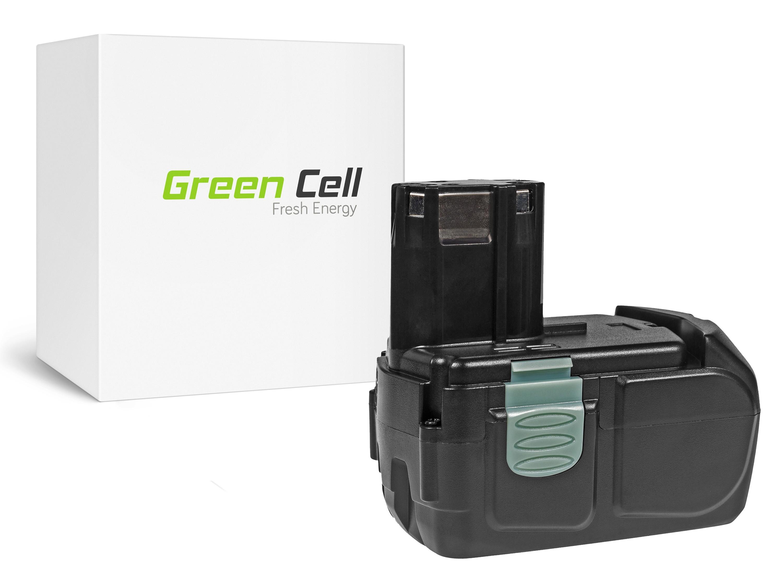 Green Cellverktyg Batteri Hitachi BCL1830 BCL1815 EBM1830 327730 18V 2.5Ah