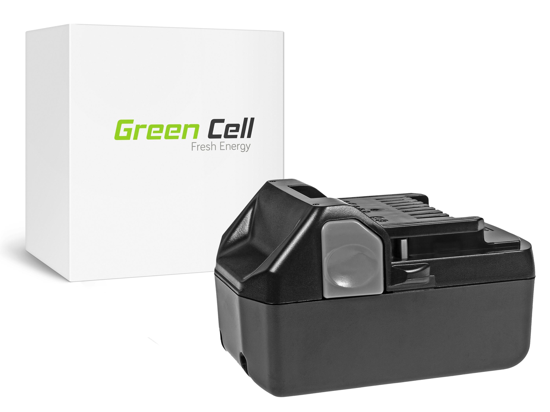 Green Cell power tool batteri hitachi C18DSL C18DSL2 C18DSLP4 CG18DSDL CJ18DSL 18V 4Ah