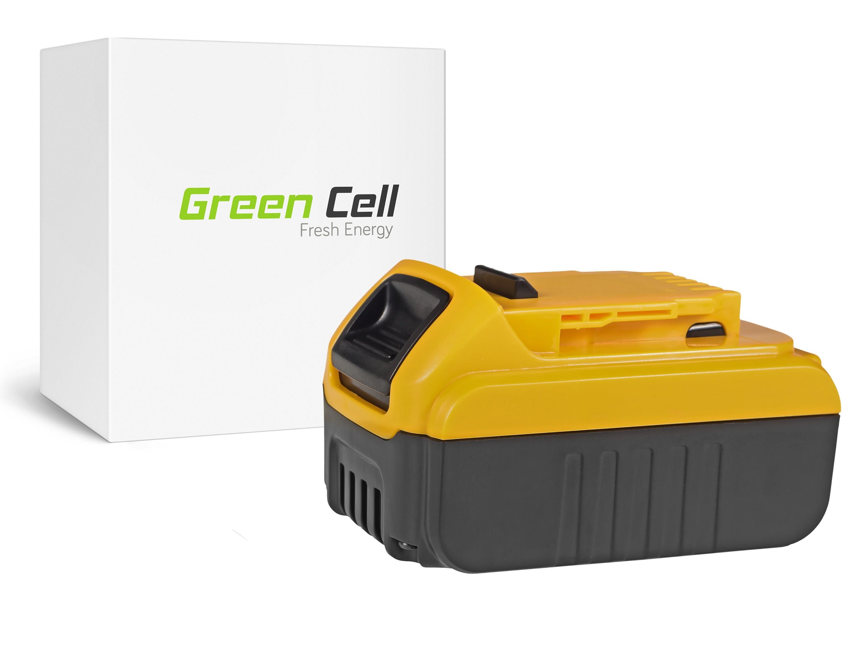 Green Cellverktygsbatteri Dewalt DCB140 DCB141 DCB142 DCB140-XJ DCB141-XJ 14.4V 3Ah