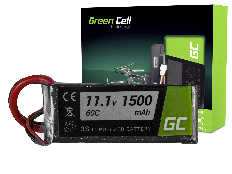 Green Cell RC Batteri 1500mAh 11.1V