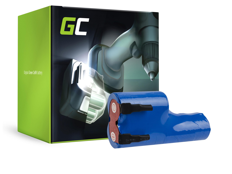 Green Cell Gräsklippare Batteri för Gardena Accu 3 Bosch AGS 8 8-ST 50
