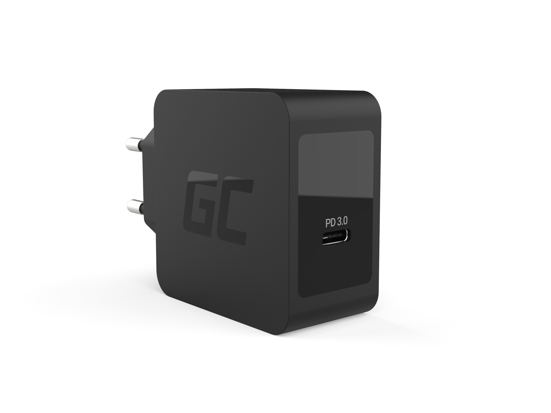 Green Cell Laddare USB-C 18W PD för Samsung Galaxy S8 S8 + S9 S9 + Note 8, iPhone X / 8 / 8 Plus, Nintendo Switch och andra