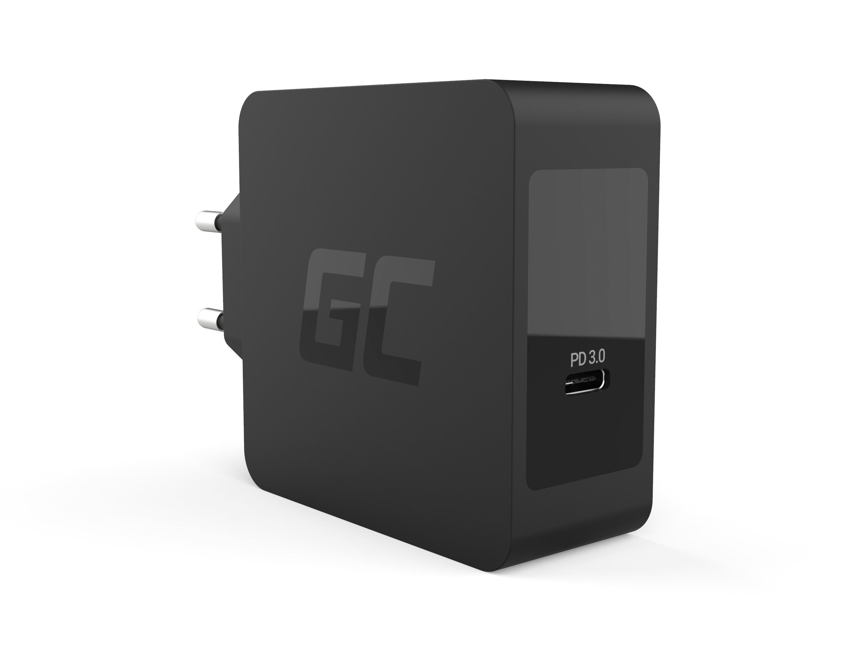 Green Cell Laddare USB-C 60W PD med kabel USB-C för Apple MacBook Pro 13, Asus ZenBook, HP Spectre, Lenovo ThinkPad en annan