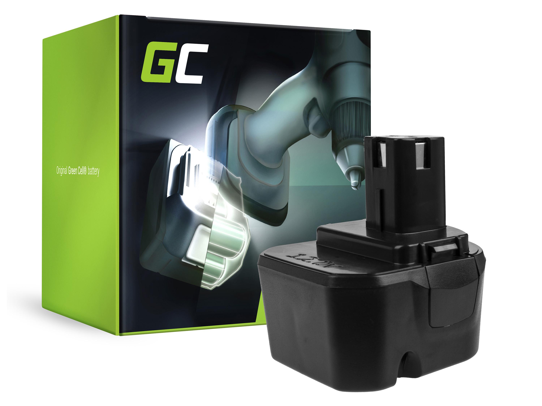 Green Cellverktygsbatteri B1222H B1230H BPT1025 för Ryobi BD120 BD121 BD122 BID1211 BID1260 SA1202