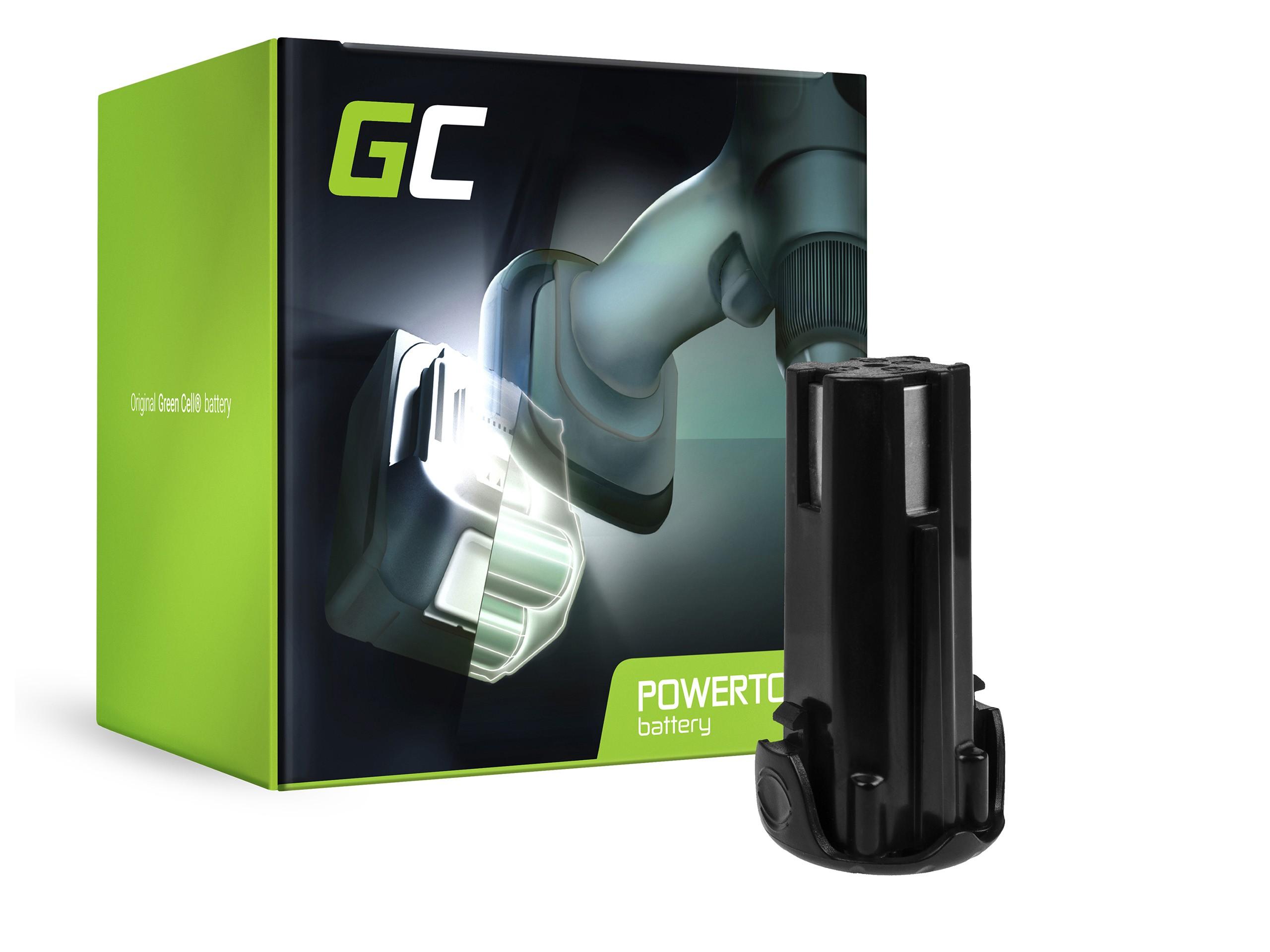 Green Cellverktygsbatteri EBM315 3.6V 1.5Ah för Hitachi DB3DL DB3DL2