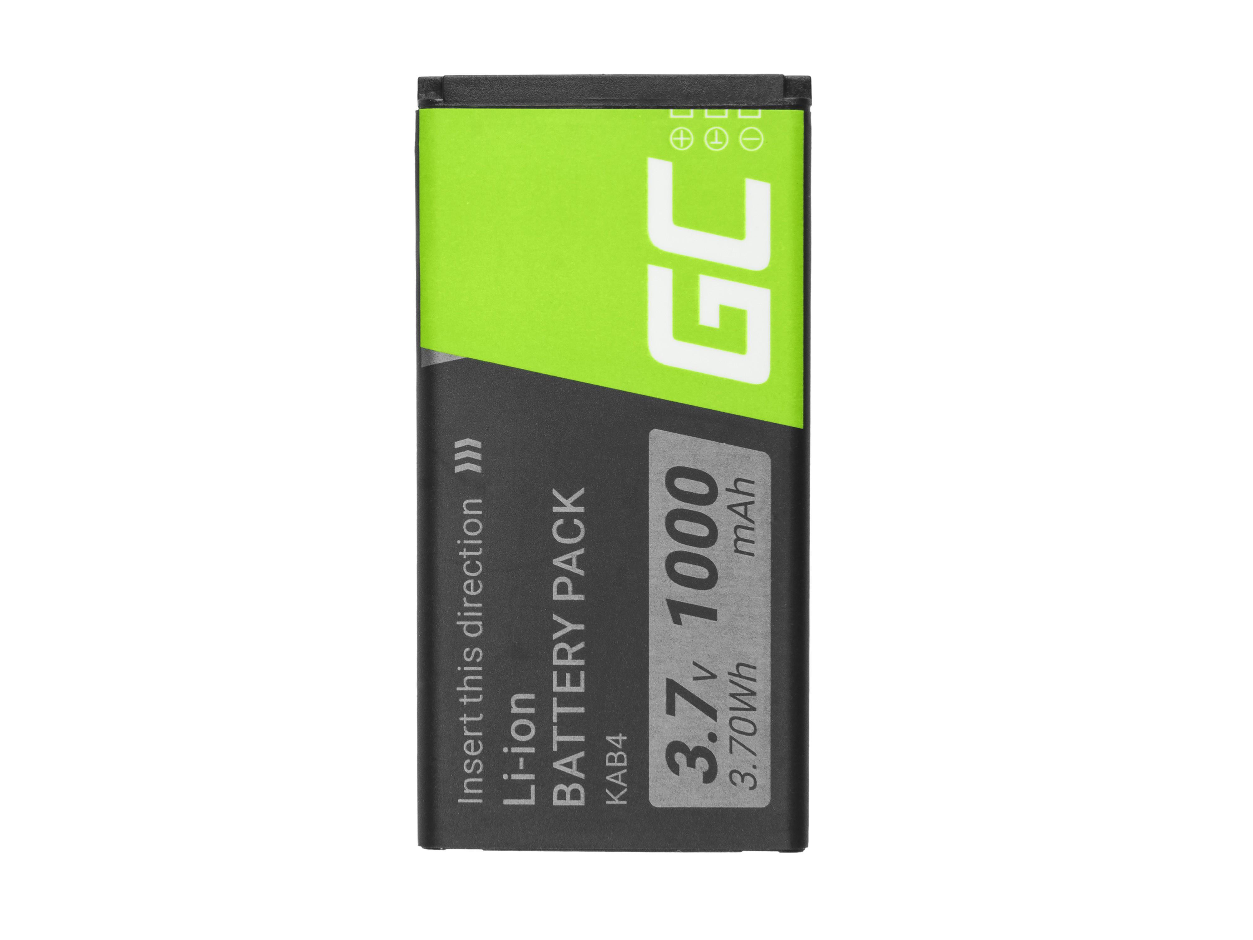 Green Cell KAB4 Telefon batteri för Kazam Life B4 Maxcom MM720