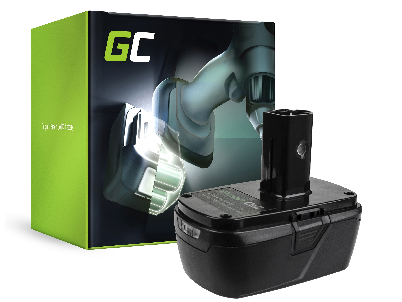 Green Cellverktygsbatteri 11375 11376 för hantverkare C3 XCP 19.2V CRS1000 ID2030 11485 114850 114852 115410 17191 5727.1