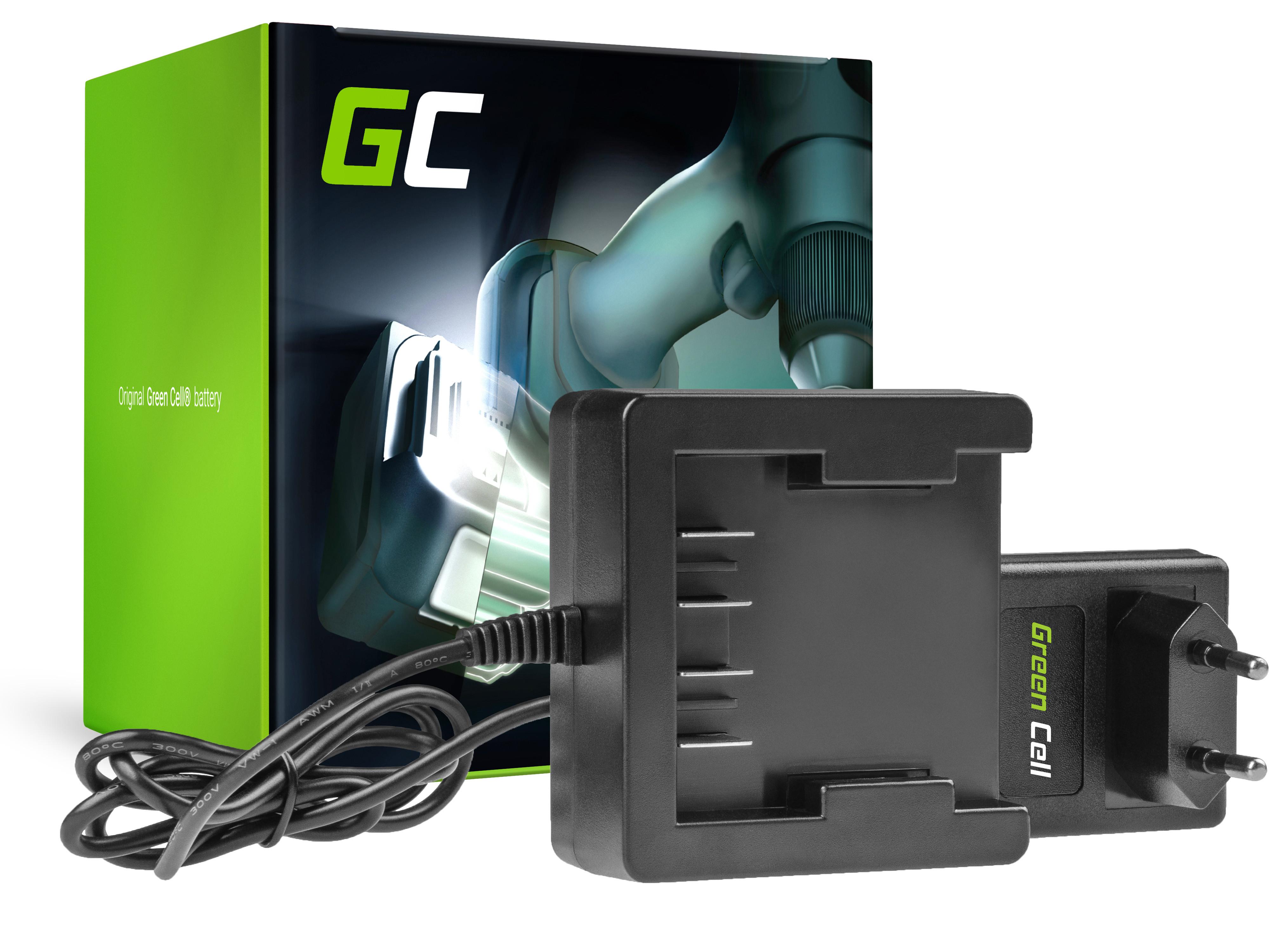 Green Cell laddare 29862 29702 25.2V GreenWorks 21.6-24V Li-Ion 29842 29852 G24 G24B2 G24CD GD24IW