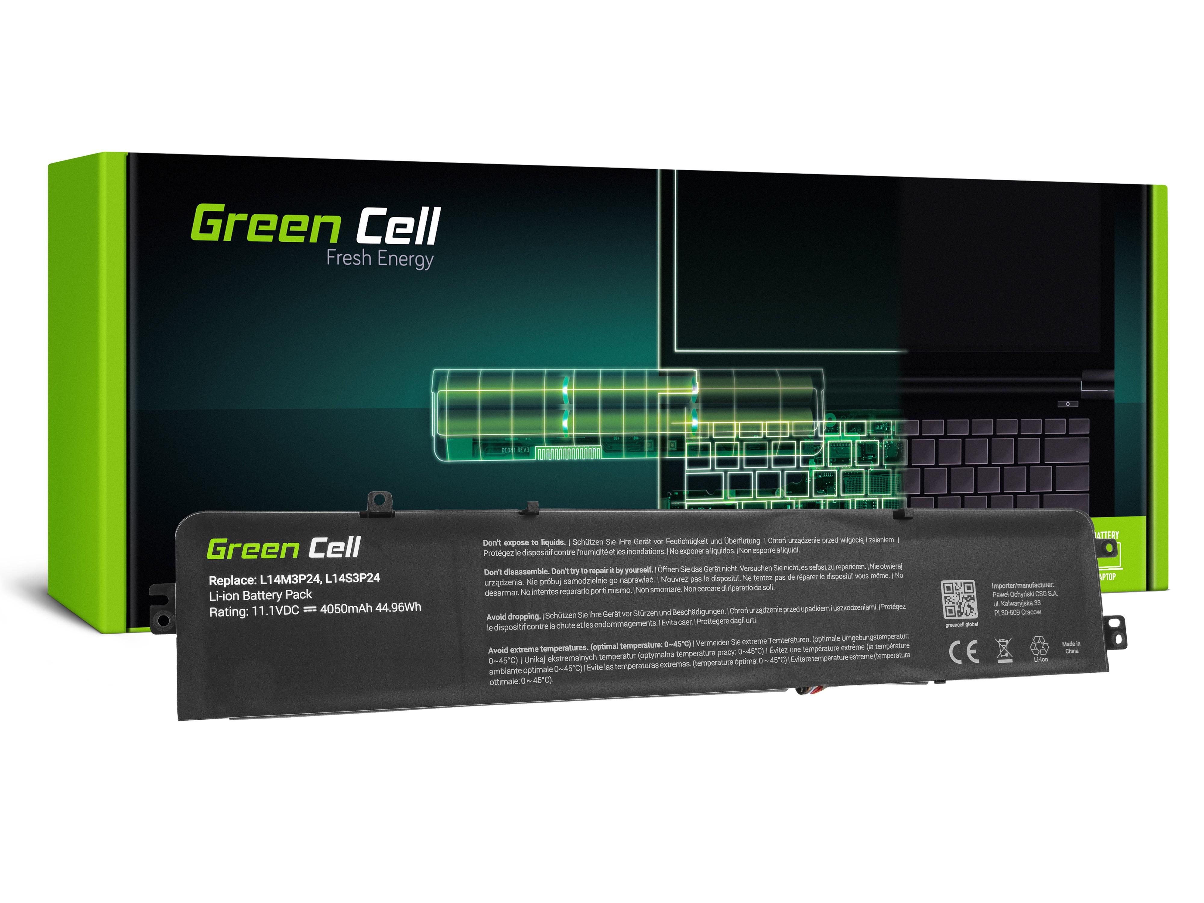 Batteri för Lenovo IdeaPad 700-15ISK 700-17ISK Y700-14ISK / 11,1V 4050mAh
