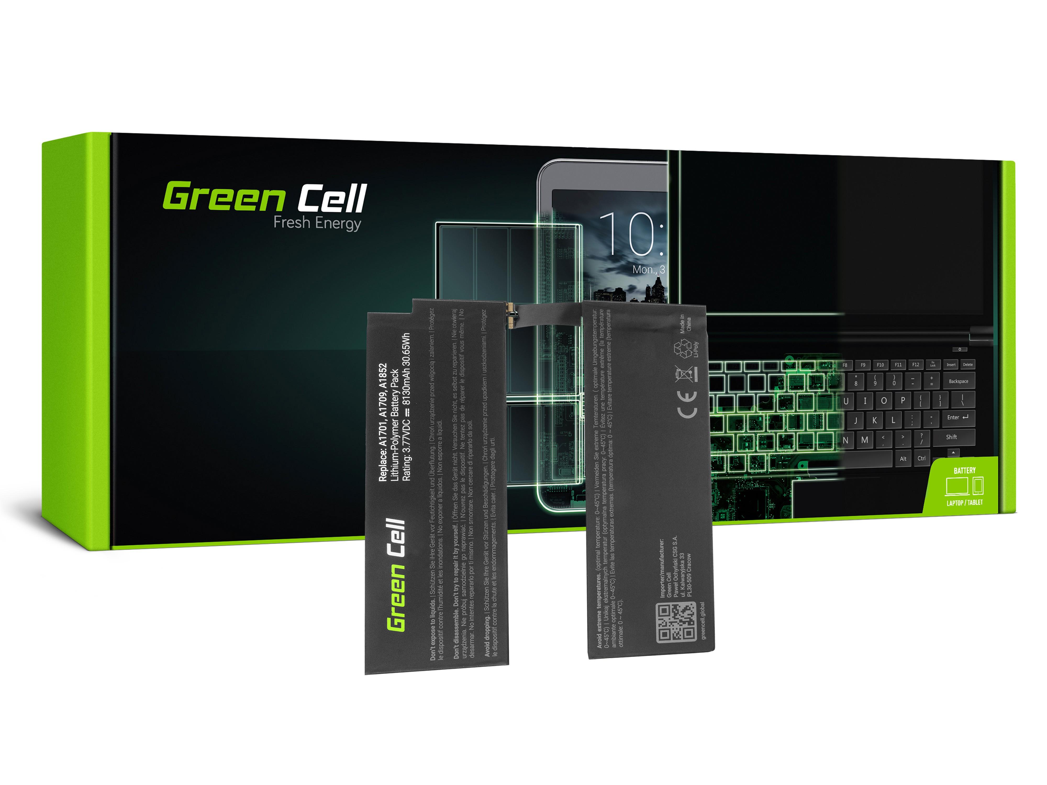 Green Cell sett till Green Cell A1798 Apple iPad Pro 10,5 A1701 A1709