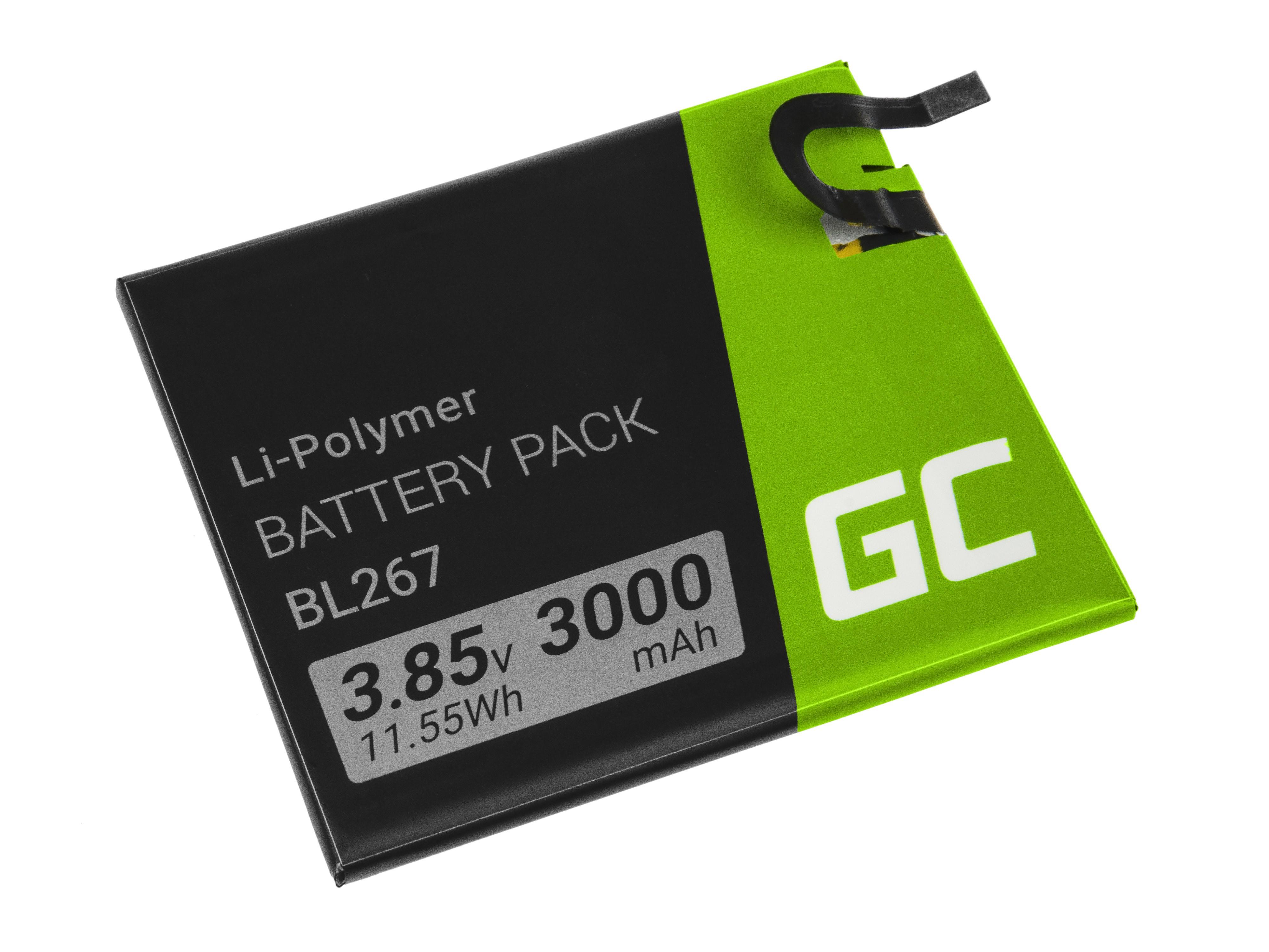 Green Cell Smartphone Batteri BL267 Lenovo Vibe K6