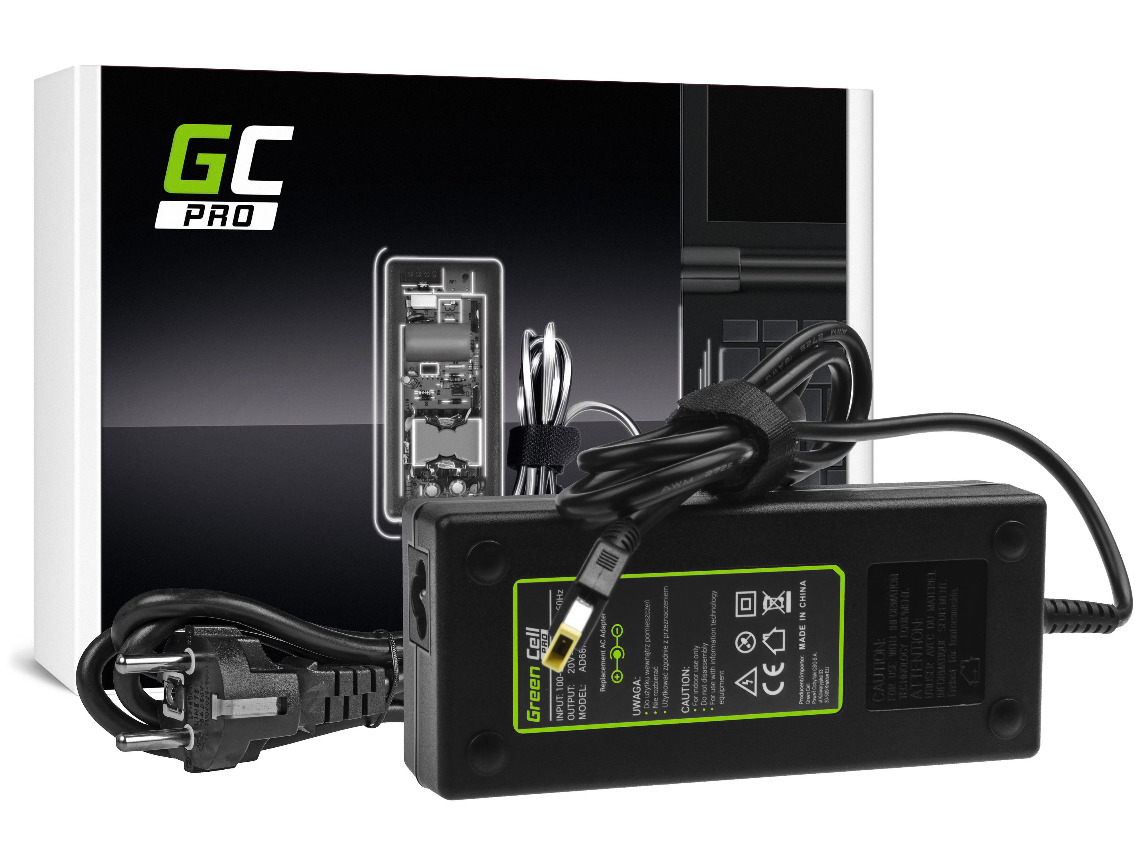 PRO Laddare nätadapter för Lenovo Y70 Y50-70 Y70 Y70-70 Y520 Y700 Z710 700-15ISK ThinkPad W540 T4 20V 6.75A 135W