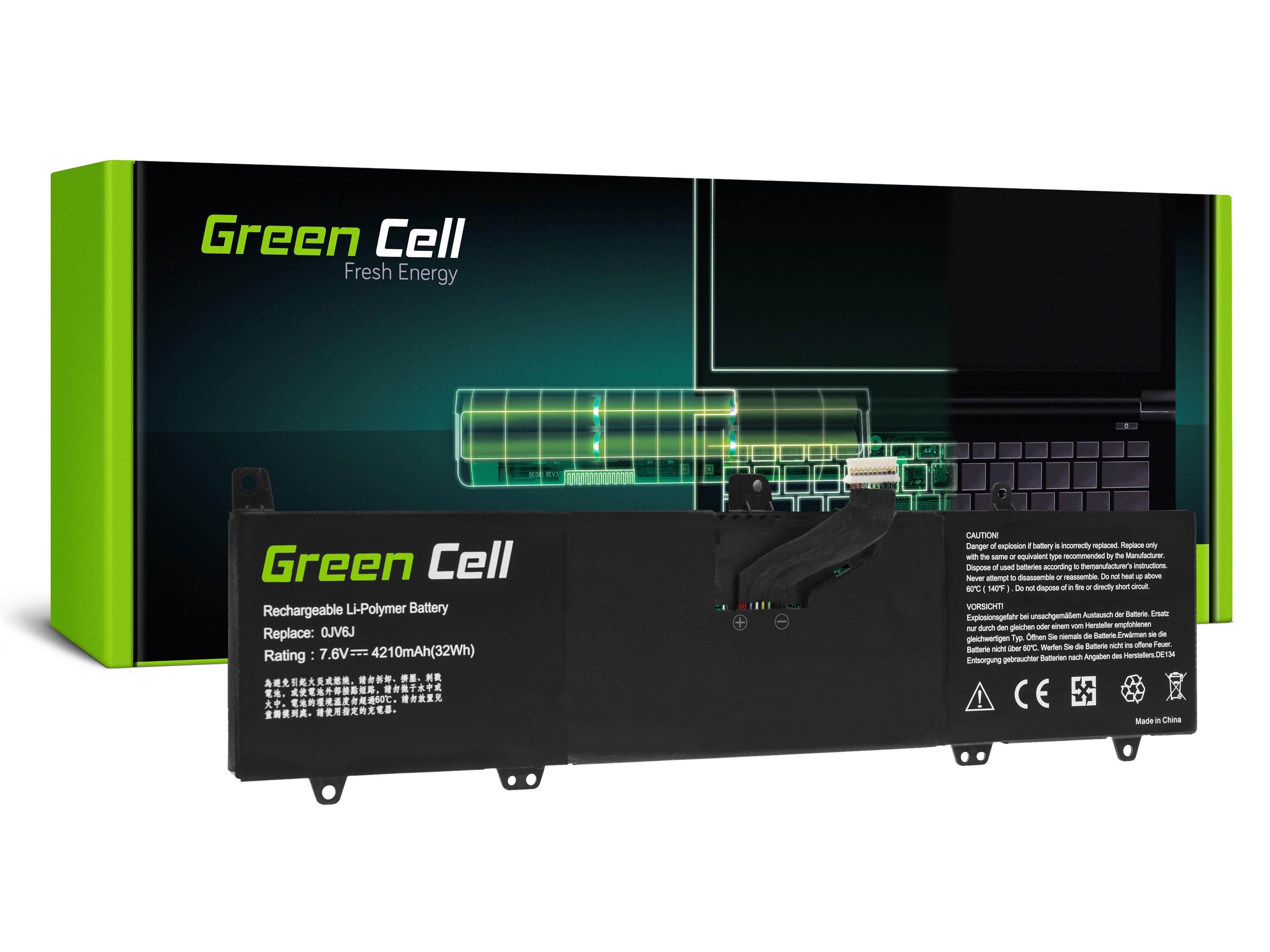 Batteri 0JV6J för Dell Inspiron 11 3162 3164 3168 3169 3179 3180 3185