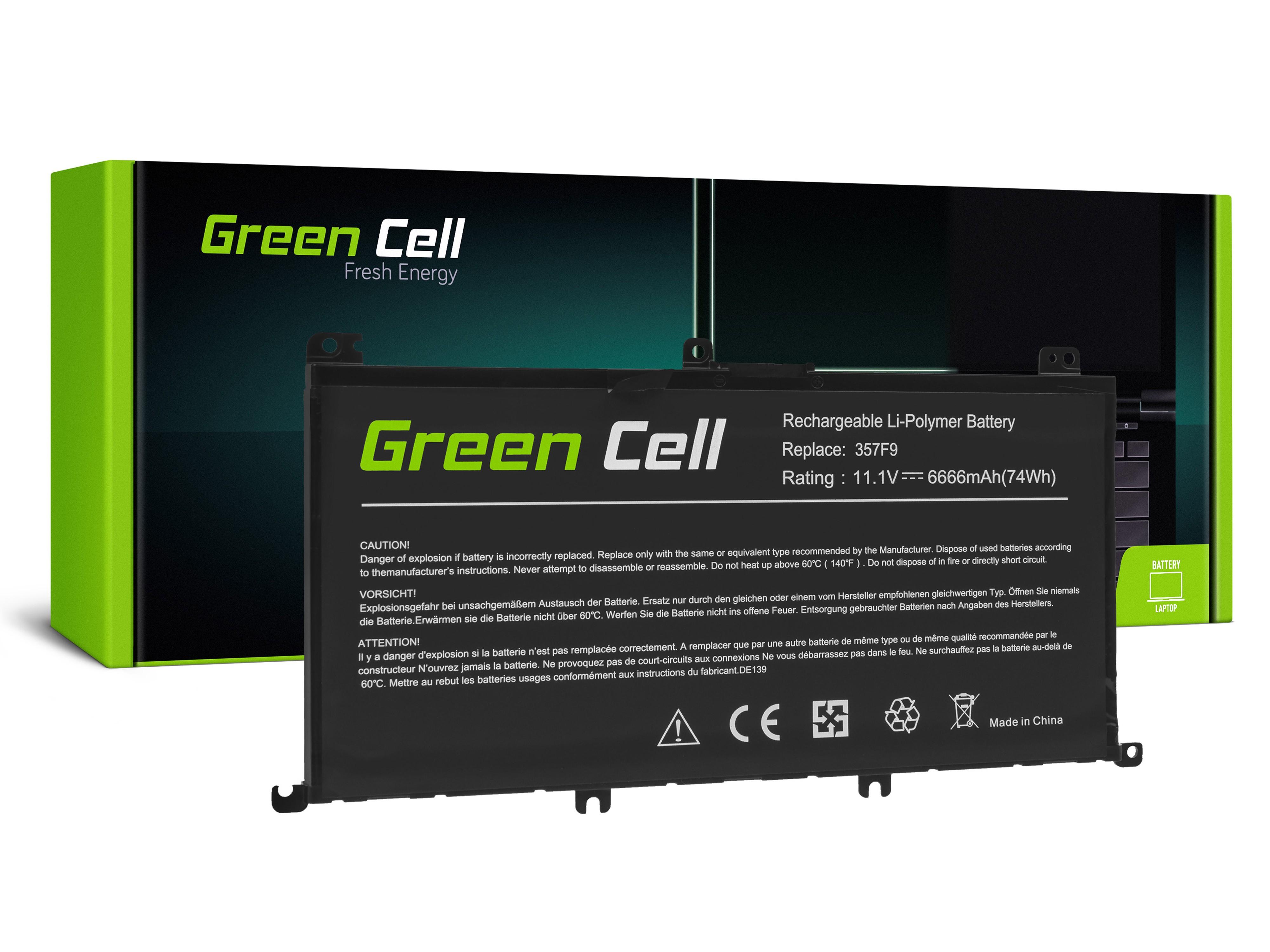 Batteri 357F9 för Dell Inspiron 15 5576 5577 7557 7559 7566 7567