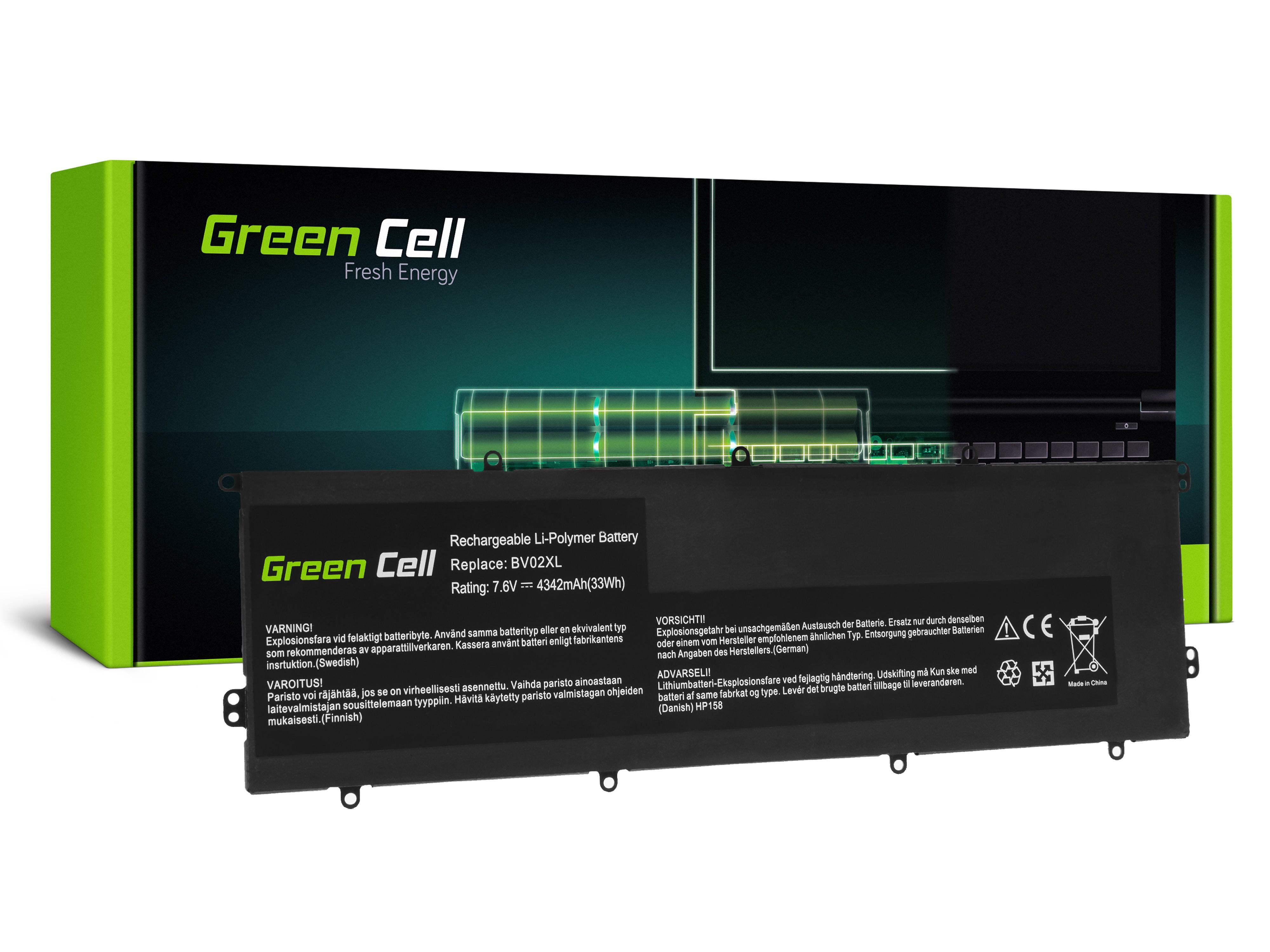 Batteri BV02XL för HP Avund x2 13-J 13-J010NW 13-J011NW