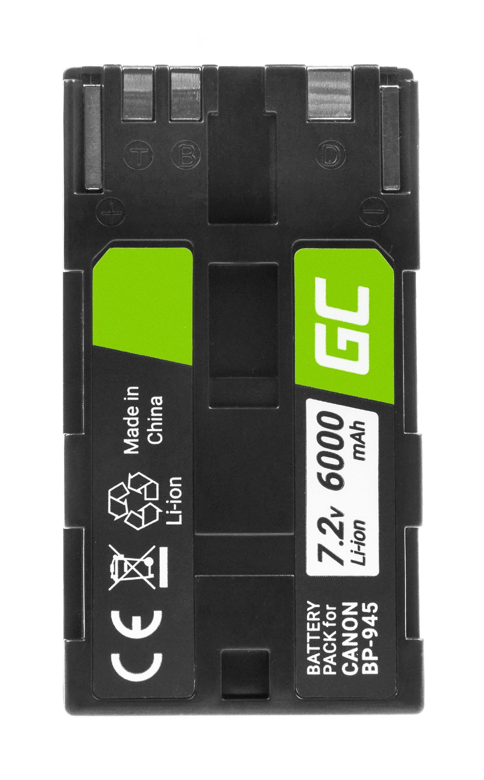 Batteri BP-80 BP-941 BP-945 do Canon DM-XL1, ES5000, XL1 7.2V 6000mAh