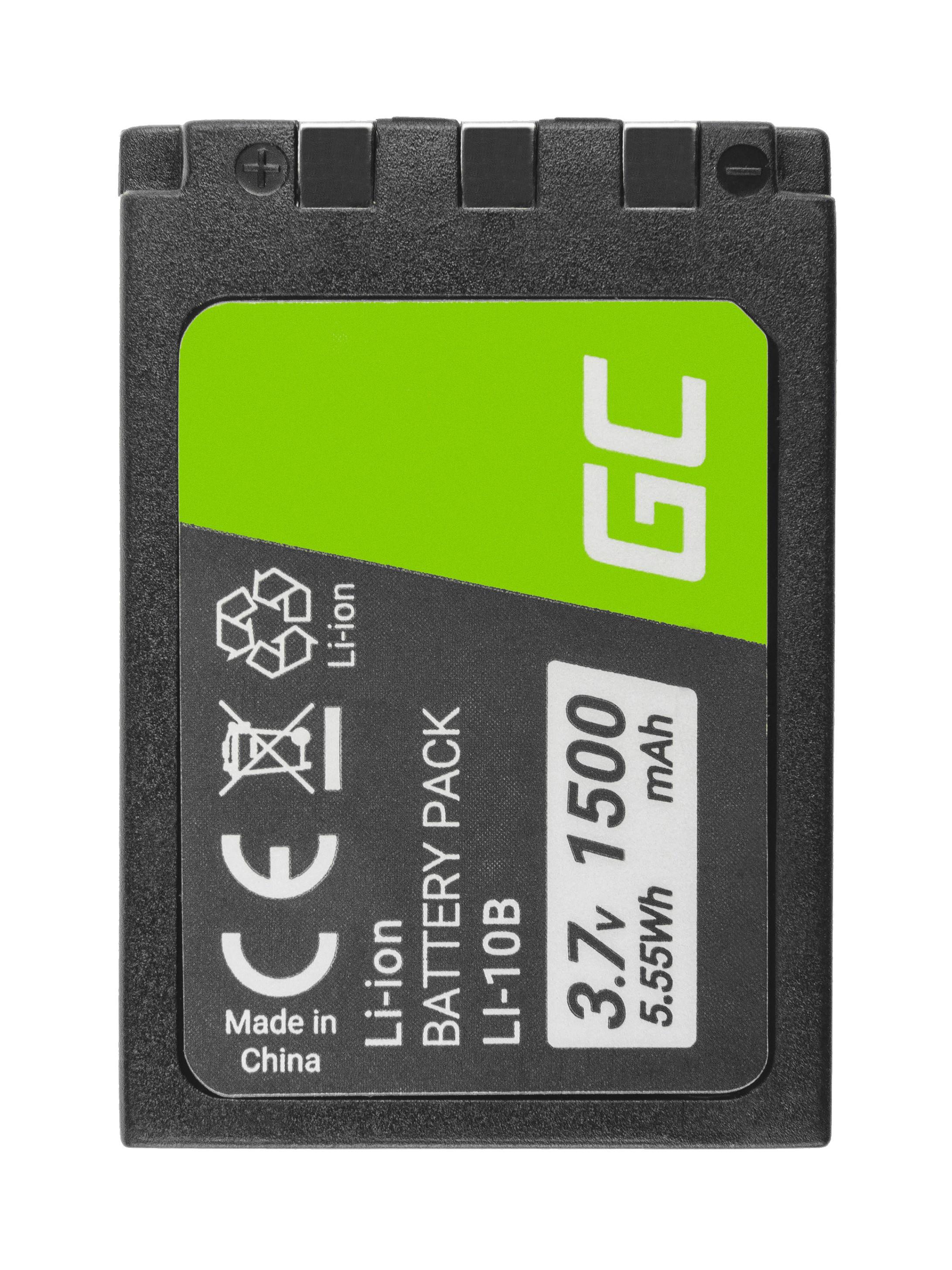 Batteri Li-10B LI-10B do Olympus Stylus 300, μ 800,Camedia X-2 3.7V 1500mAh